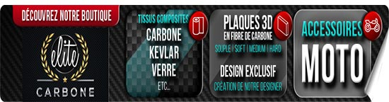 Plaque en Fibres de CARBONE
