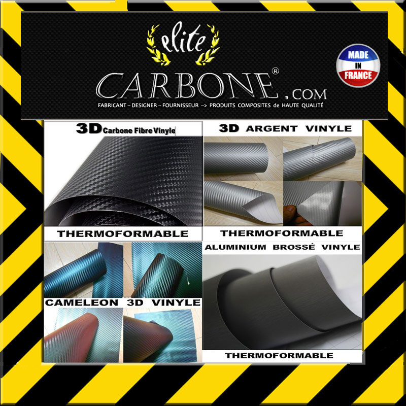 Carbone 3d 1000x1520mm Autocollant Thermoformable Adhesif Tuning Covering Ebay